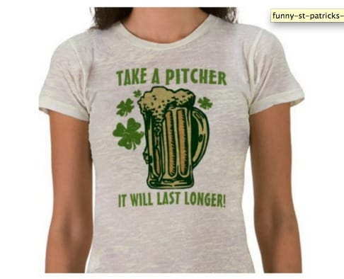 funny st particks day shirts