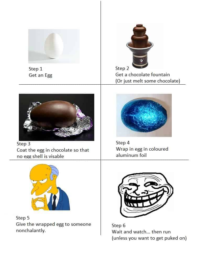 Hilarious Easter Prank
