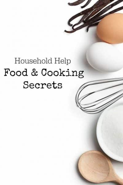 Household Help – Food and Cooking Secrets