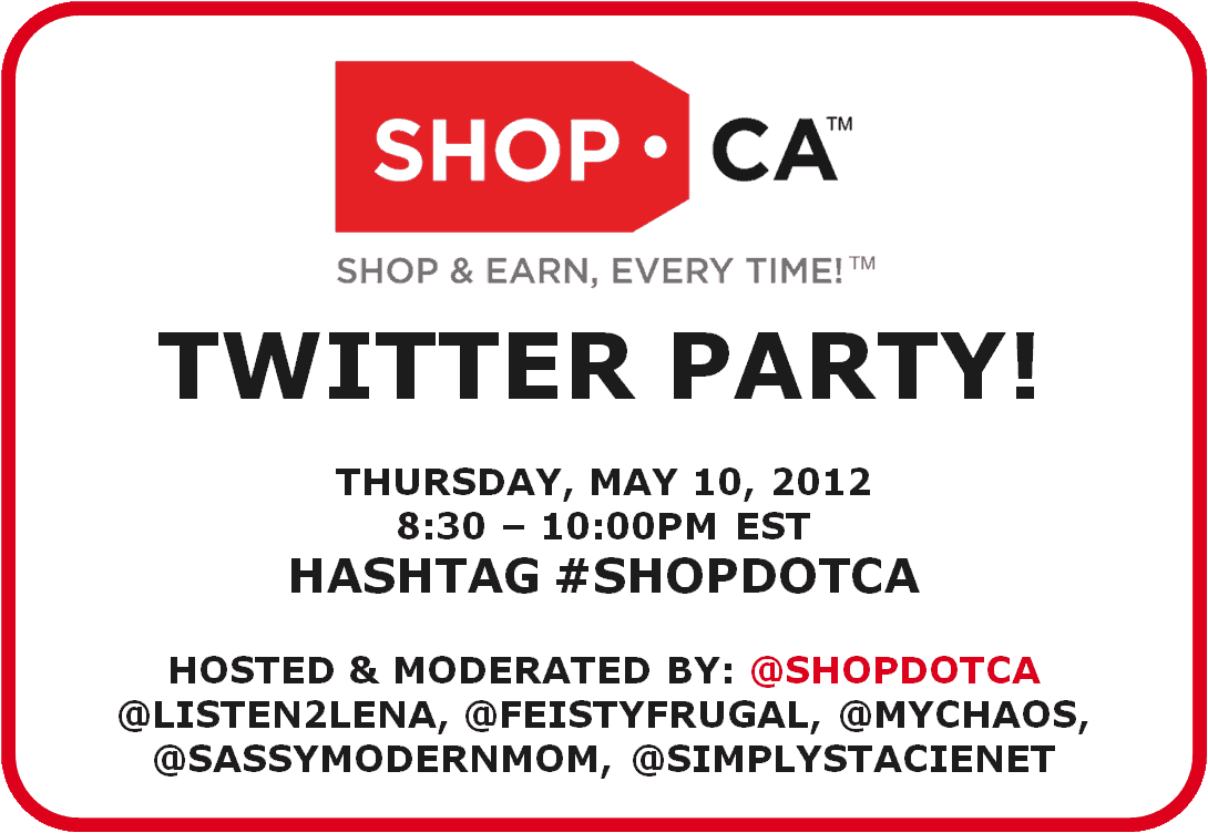 Join the Shop.ca Twitter Party on May 10th!