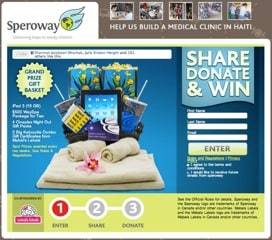 Win iPad3, $500 WaySpa Package and more {Cdn only}