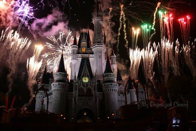 Disney Fireworks My Organized Chaos