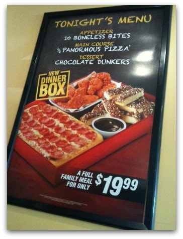 Much like their name Pizza Hut knows pizza, pepperonis, Hawaiian, cheese, sausage are just some of customers favorites.