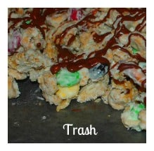 My top fave for the holiday season, this White Trash recipe combines two of my favourite indulgences - white chocolate and cereal.
