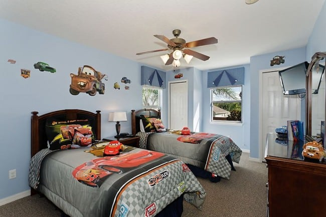 wonderful car themed bedroom | Disney Kids Bedroom Ideas - My Organized Chaos