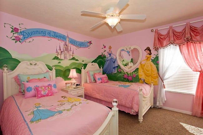 disney - Disney Bedroom Designs