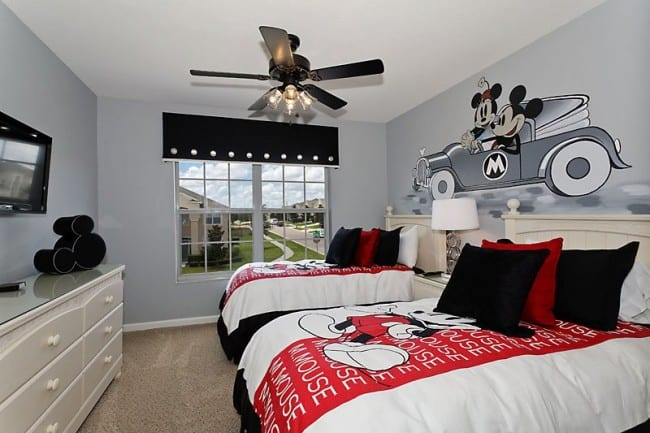 mickey - Disney Bedroom Designs