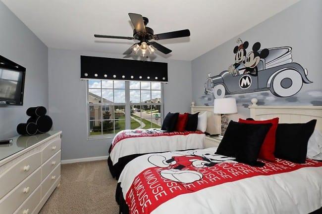 Grey Twin Bed Boys Room
