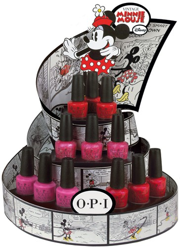 Vintage Minnie Mouse Nail Polish from OPI
