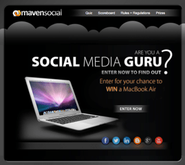 Are You A Social Media Guru? {Apple MacBook Air Contest!}
