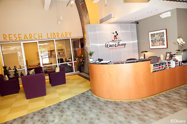 Disney Animation Research Library