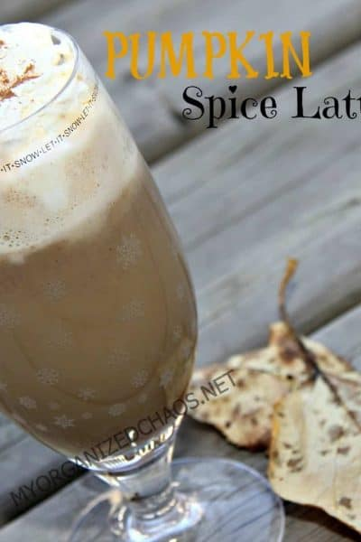 Make at Home : Pumpkin Spice Latte