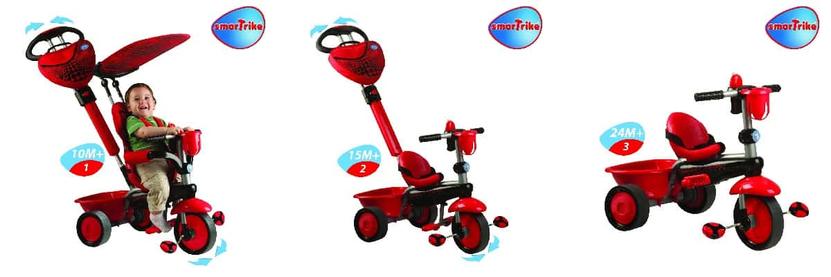 Smart-Trike: 3 in 1 Tricycle ~ Giveaway
