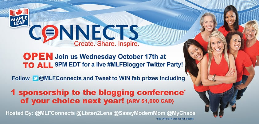 Come to the #MLFBlogger Twitter Party!