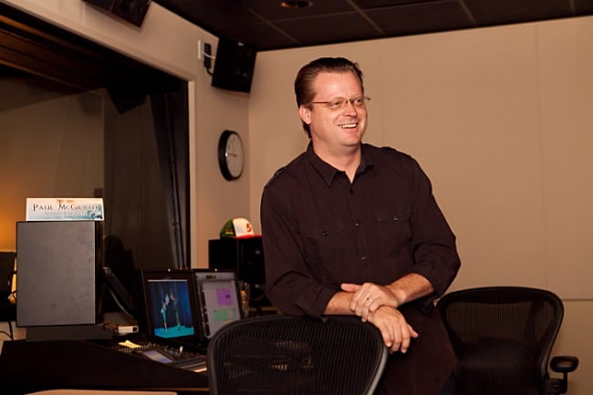 Audio Engineer Paul McGrath, Secret of the Wings
