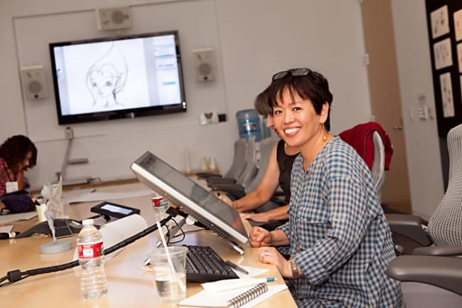 Ritsuko Notani designer; Secret of the Wings
