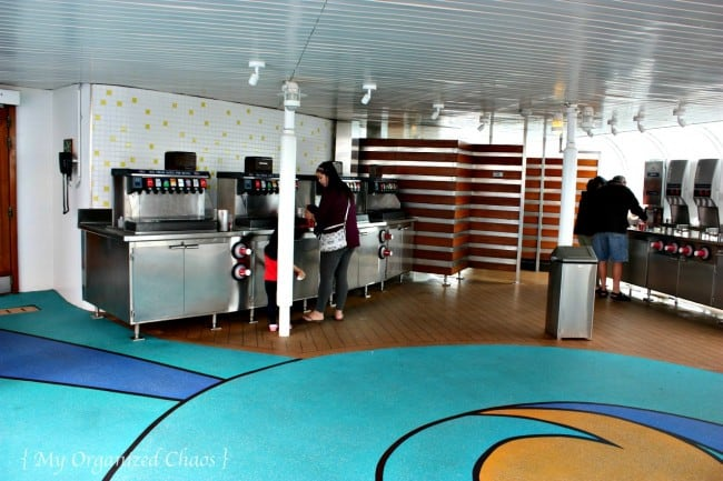 Beverages Disney Wonder Cruise Lines