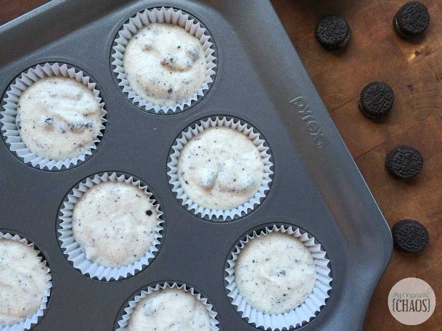 cookies & cream oreo cupcakes