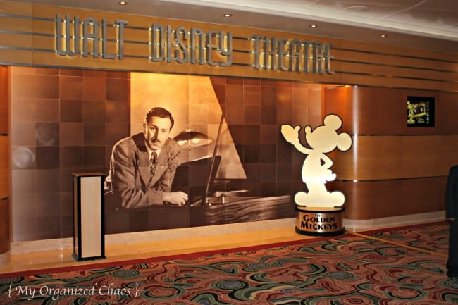 Disney Wonder Walt Disney Theatre