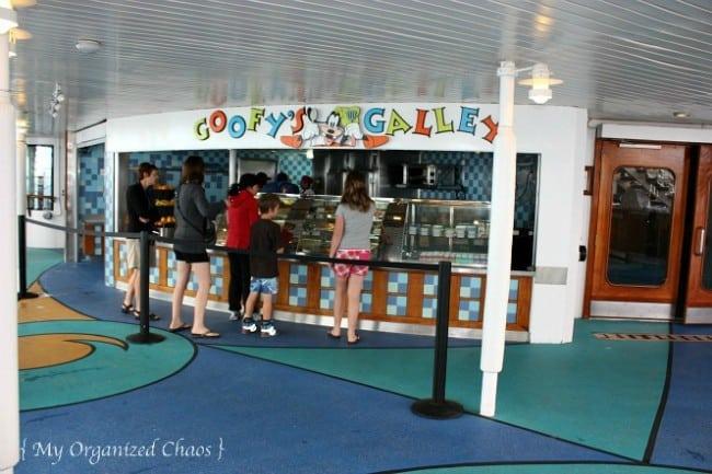 Goofy's Galley Disney Wonder Cruise Lines