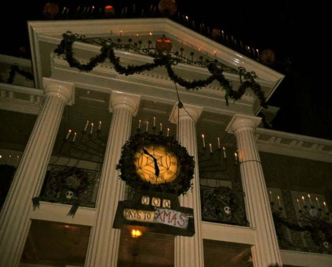 Haunted Mansion at Halloween Disneyland