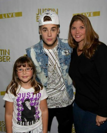 Meeting Justin Bieber