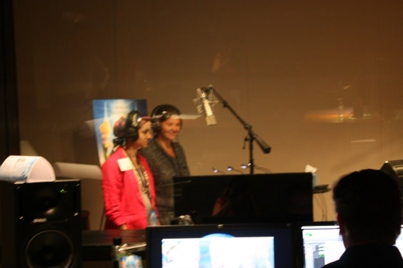 Secret of the Wings Sound Recording