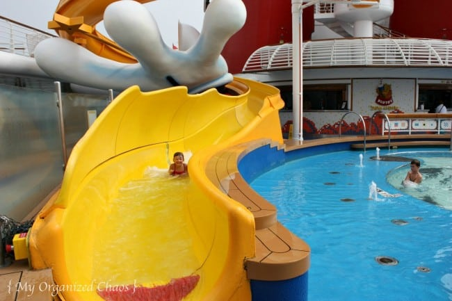 disney wonder waterslide