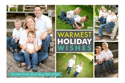 Holiday Photo Cards from Grace Announcements