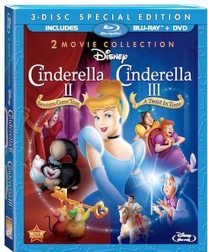 Disney's Cinderella 2 and Cinderella 3 : the 2 Movie Collection