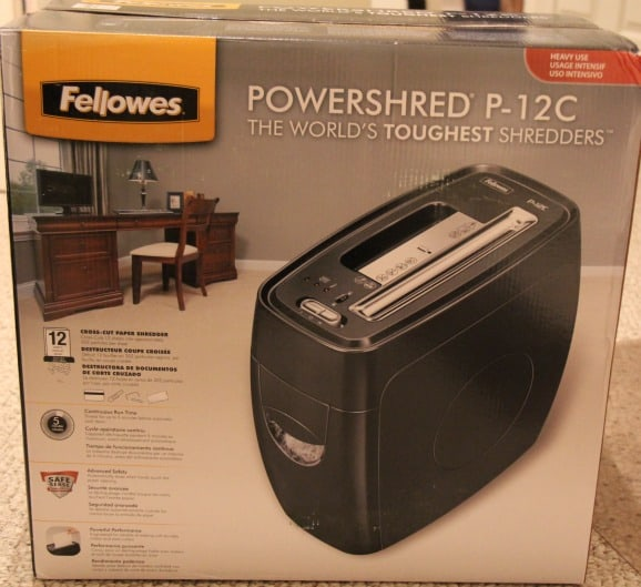 Fellowes Powershred P-12C Shredder