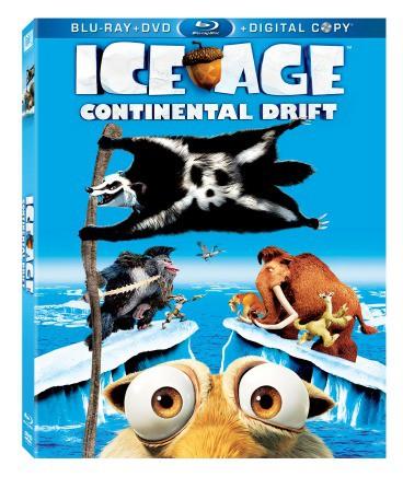 Ice Age: Continental Drift on Blu-ray