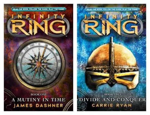 Scholastic Canada Book Titles for Tweens - My Organized Chaos Infinity Ring Book Series