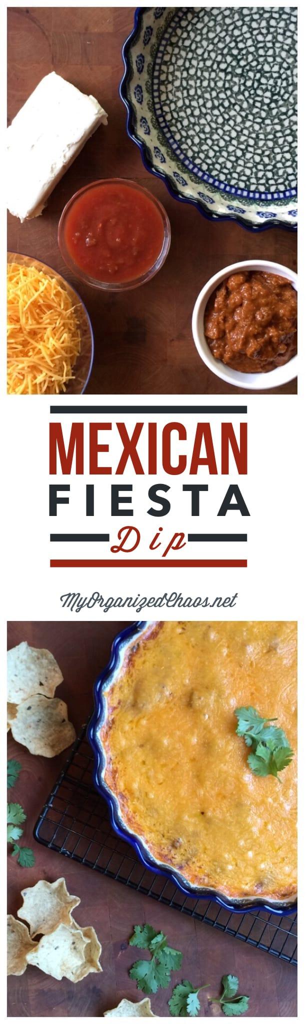 Mexican Fiesta Dip Appetizer Recipe
