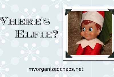 Elf on a Shelf, Meet Elfie