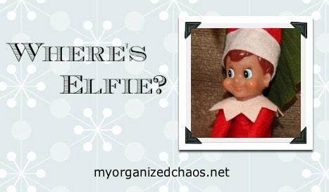 Elf on a Shelf, Meet Elfie