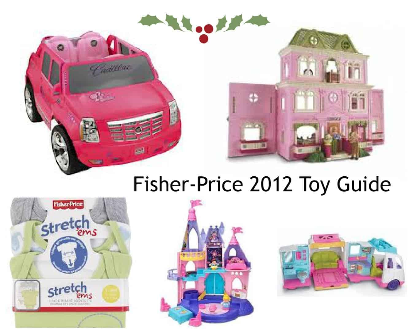 Fisher-Price 2012 Holiday Toy Guide