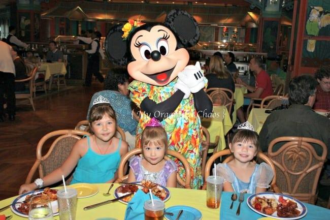 Dining on the Disney Wonder
