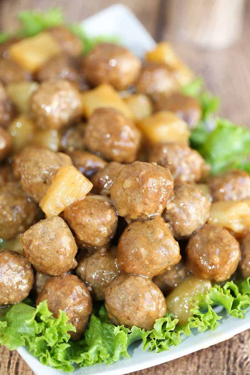 Hawaiian Meatballs