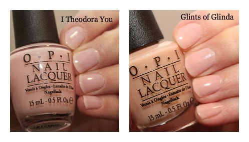 oz nail polishes opi review