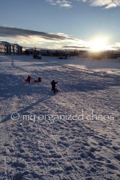 January in Alberta