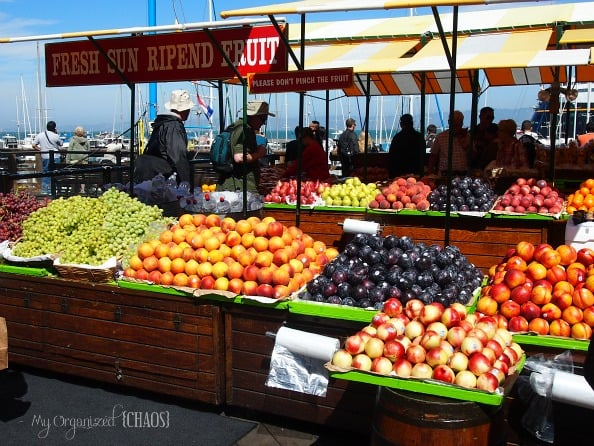 Fresh Food Fruit Fishermans Wharf Pier 39