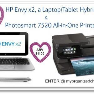 HP Envy x2 Laptop/Tablet {with Photosmart 7520 Printer}