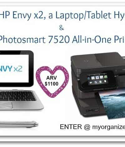 HP Envy x2 Laptop/Tablet {with Photosmart 7520 Printer}