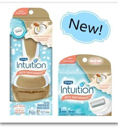 Canadians Review: Schick Intuition Pure Nourishment Razor