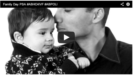 Family Day for all Albertans, a Video  #abhc4ivf #abpoli