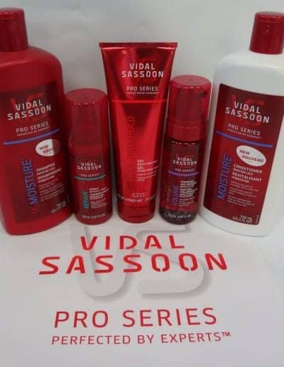 Vidal Sassoon Pro Series Giveaway