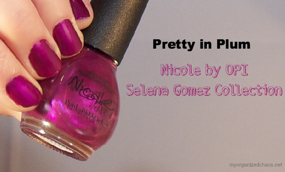 selena gomez nicole by opi polish collection