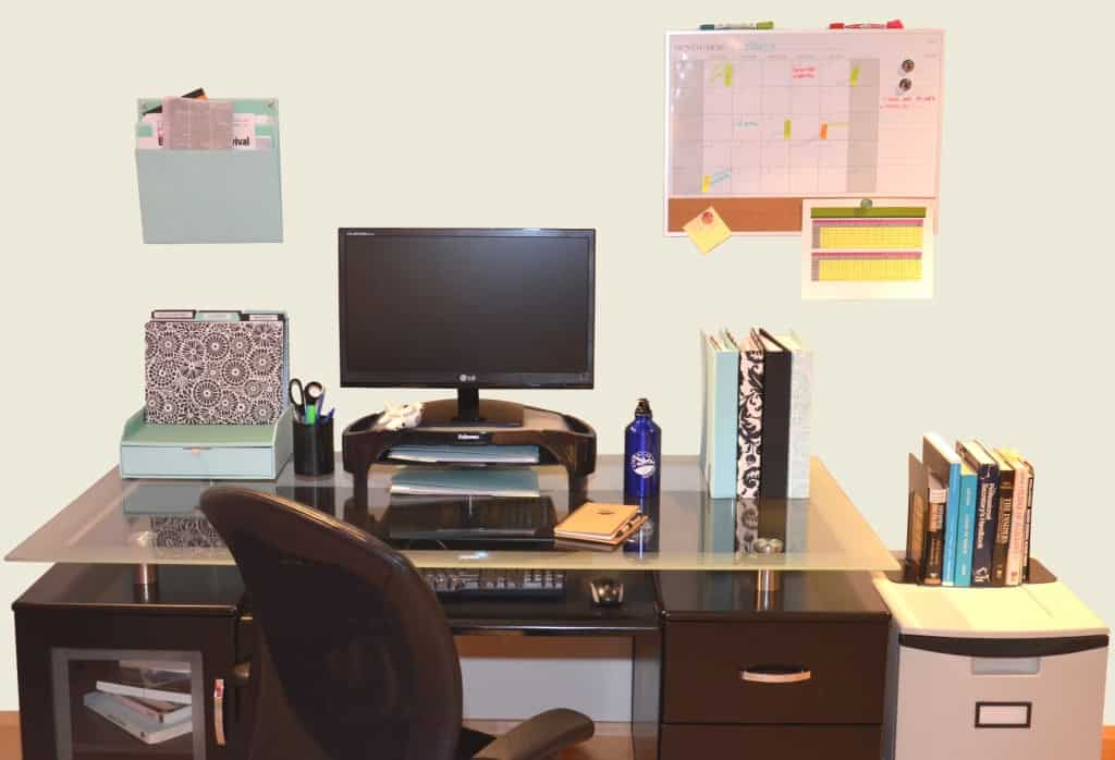 My Organized Home Office; Staples and Air Miles