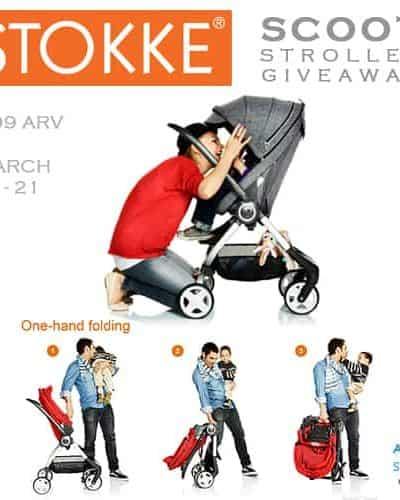 Stokke Scoot Stroller Giveaway